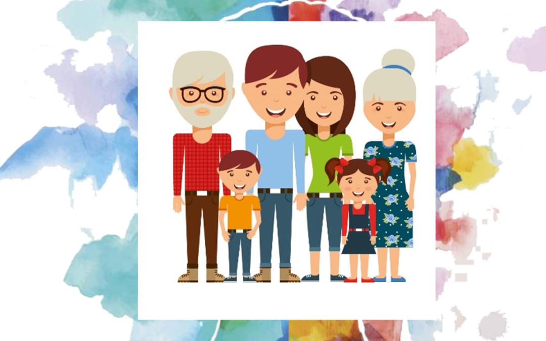 Abuelos y nietos confinados juntos por el Covid-19